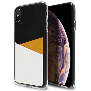 iPhone XR ケース Athand O1 バックポケットケース イエロー iPhone XR