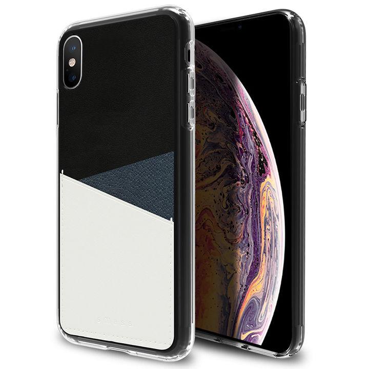 iPhone XS Max ケース Athand O1 バックポケットケース ネイビー iPhone XS Max_0