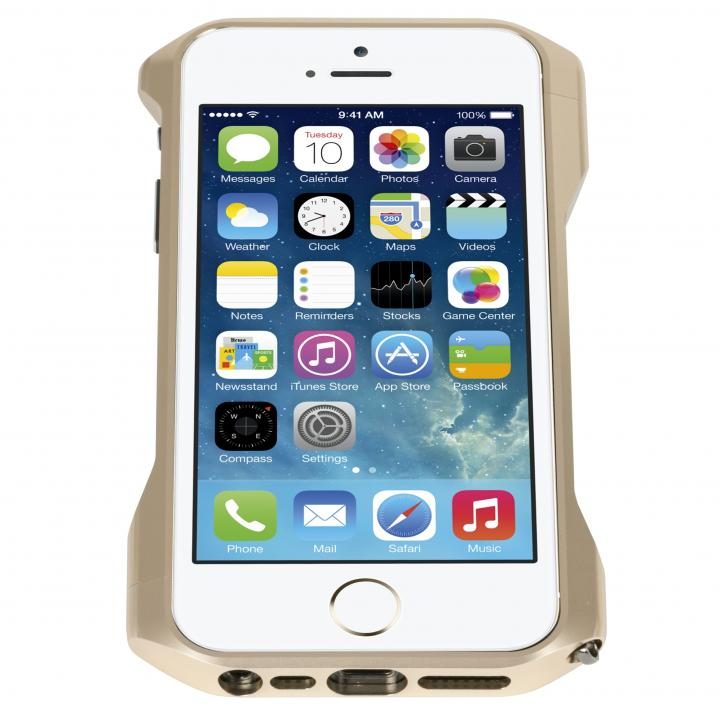 【在庫限り】CLEAVE PREMIUM ALUMINUM BUMPER ZERO iPhone 5/5s Gold?送料無料