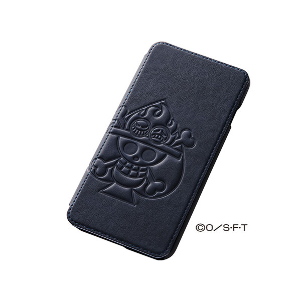 【iPhone6 Plusケース】ワンピース 手帳型合成皮ケース ポップアップ エース iPhone 6 Plusケース_0