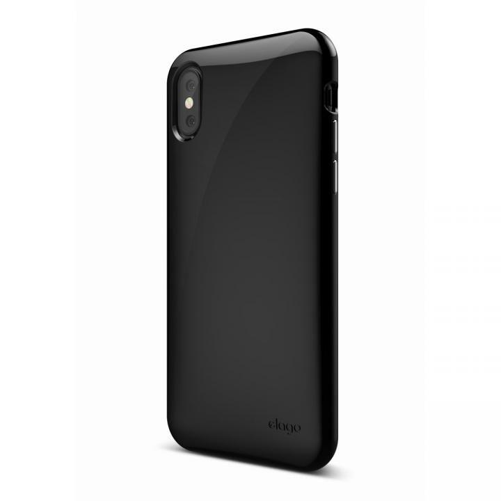 elago S8 CUSHION TPUケース ブラック iPhone X