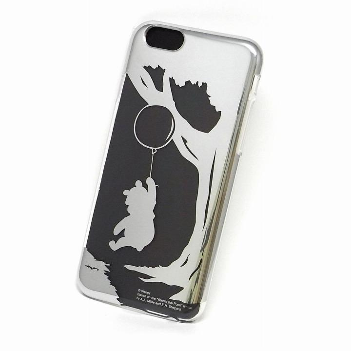 【iPhone6ケース】カスタムケース ディズニー シルバー プー シルエット iPhone 6ケース_0
