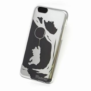カスタムケース ディズニー シルバー プー シルエット iPhone 6ケース