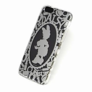 カスタムケース ディズニー シルバー デイジー シルエット iPhone 6s/6ケース