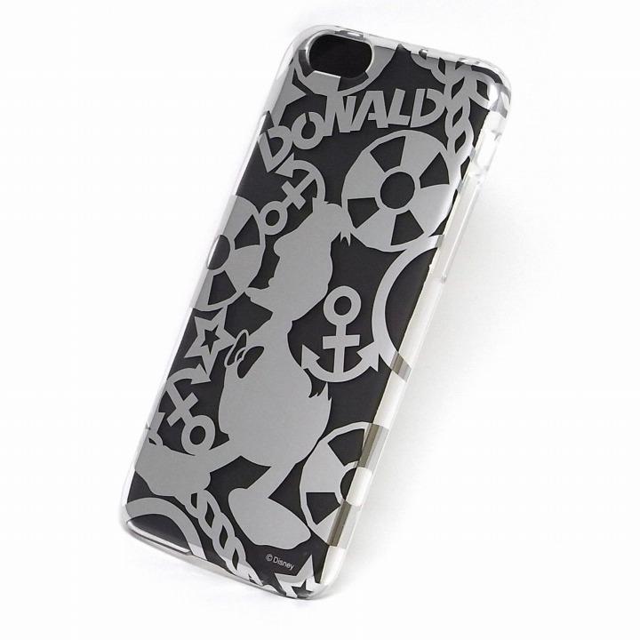 【iPhone6ケース】カスタムケース ディズニー シルバー ドナルド シルエット iPhone 6ケース_0