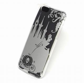 カスタムケース ディズニー シルバー シンデレラ シルエット iPhone 6ケース