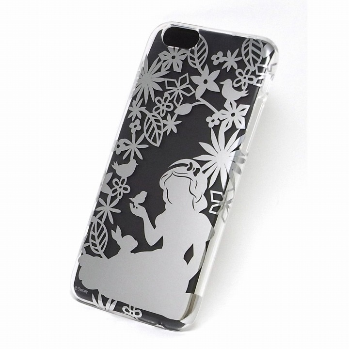 iPhone6s/6 ケース カスタムケース ディズニー シルバー 白雪姫 シルエット iPhone 6s/6ケース_0