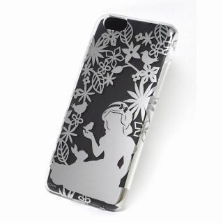 カスタムケース ディズニー シルバー 白雪姫 シルエット iPhone 6s/6ケース
