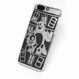 カスタムケース ディズニー シルバー モンスターズ シルエット iPhone 6s/6ケース
