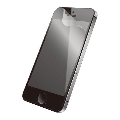 iPhone SE/5s/5 フィルム iPhone SE/5s/55c用 保護フィルム/エアーレス/皮脂汚れ防止_0