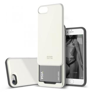 DESIGNSKIN スライダーポケットケース ホワイト iPhone 7