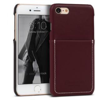 DESIGNSKIN 牛革ポケットケース ダークブラウン iPhone 7