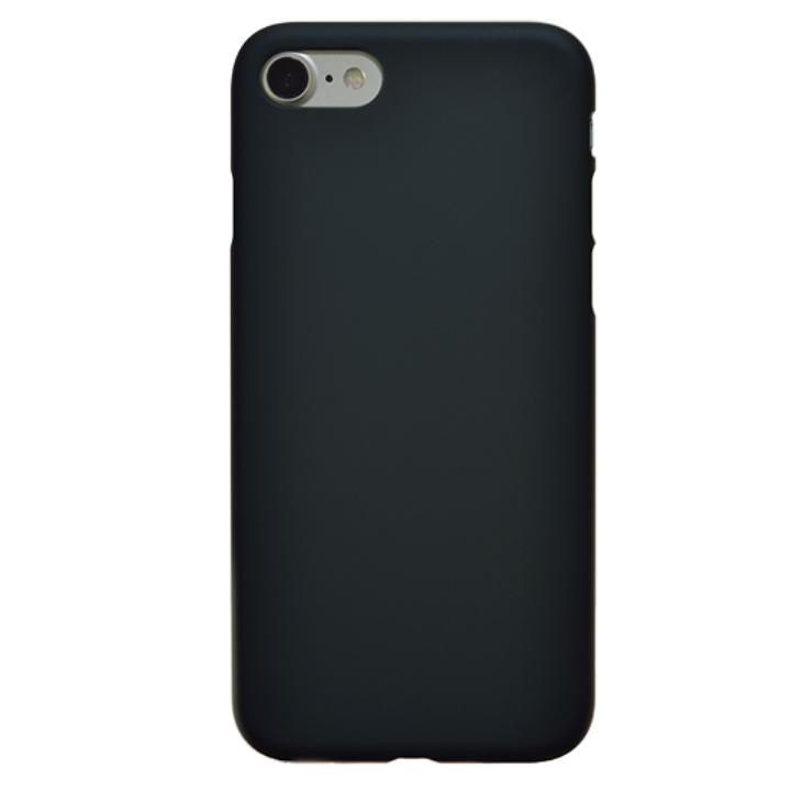 【iPhone7ケース】エアージャケットセット ラバーブラック iPhone 7_0