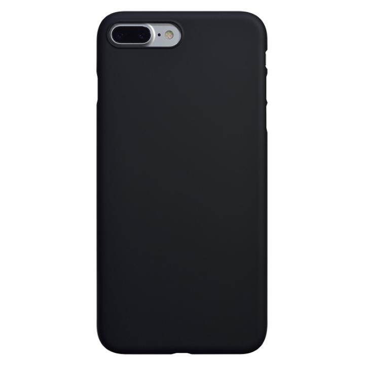 【iPhone7 Plusケース】エアージャケットセット ラバーブラック iPhone 7 Plus_0