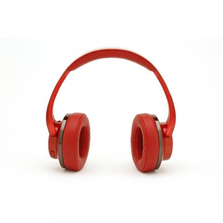 『いい音』Bluetoothヘッドホン&スピーカー レッド_0