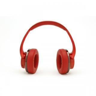 『いい音』Bluetoothヘッドホン&スピーカー レッド