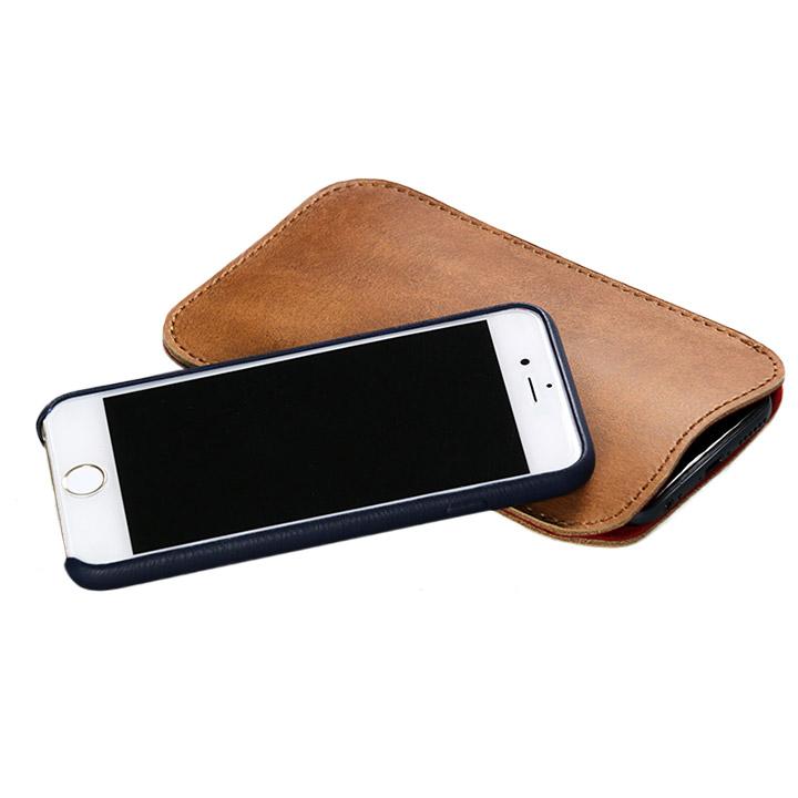【iPhone6s/6ケース】職人が作るオイルドレザースリーブ iPhone 6s/6 スペシャルエディション_0