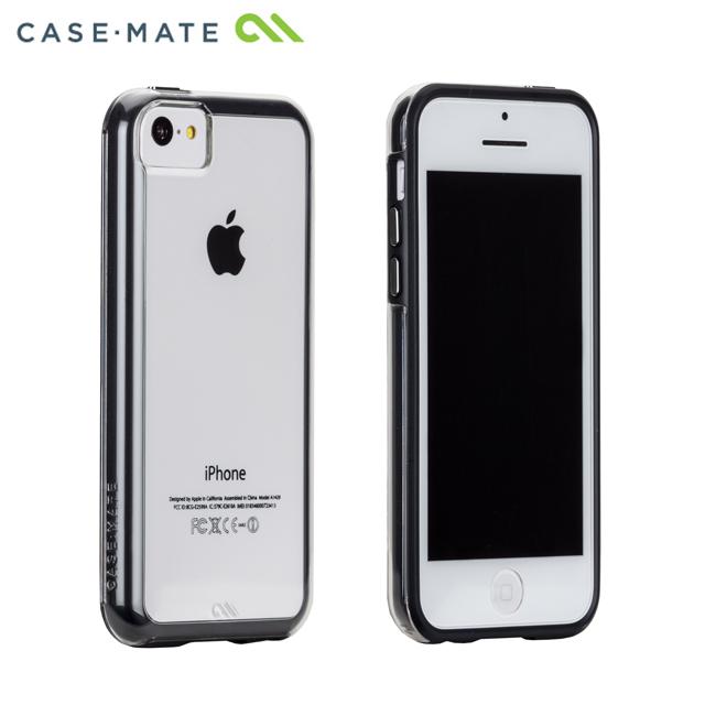 iPhone 5c タフ ネイキッド クリア/ブラック_0