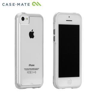 iPhone 5c タフ ネイキッド クリア/ホワイト