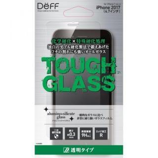 Deff TOUGH GLASS 強化ガラス フチなし透明  通常 iPhone 8/7/6s/6