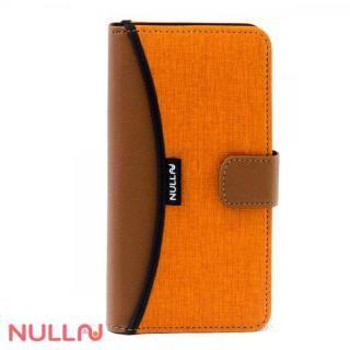NULL FASHION ウォレット手帳型ケース オレンジ iPhone X
