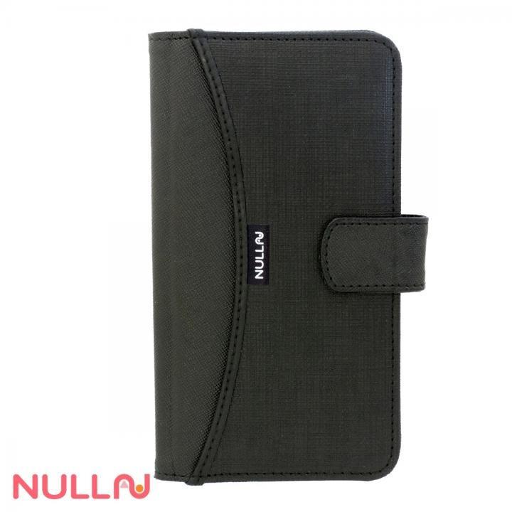 NULL FASHION ウォレット手帳型ケース ブラック iPhone X