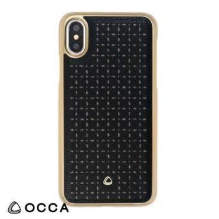 OCCA Spade PUレザーケース ブラック iPhone X
