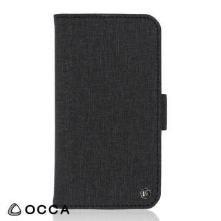 OCCA Coach お財布手帳型ケース ブラック iPhone X