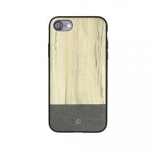 OCCA Wooden ウッドパターンケース グレー iPhone X