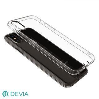 【iPhone Xケース】Devia Anti-shock 薄型ソフトケース クリアティー iPhone X_1