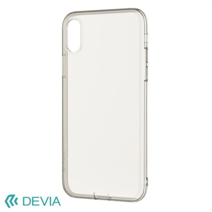 Devia Anti-shock 薄型ソフトケース クリアー iPhone X