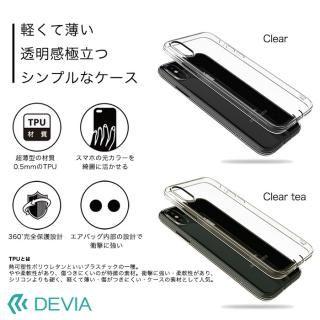 【iPhone Xケース】Devia Anti-shock 薄型ソフトケース クリアティー iPhone X_6