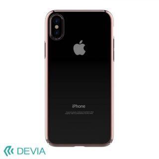 【iPhone Xケース】Devia Glimmer フレーム付ハードケース ローズゴールド iPhone X_1