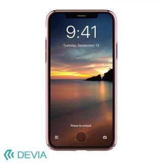 【iPhone Xケース】Devia Glimmer フレーム付ハードケース ローズゴールド iPhone X_2