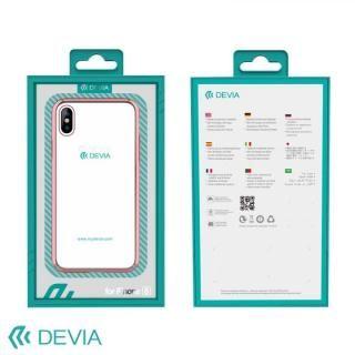 【iPhone Xケース】Devia Glimmer フレーム付ハードケース ローズゴールド iPhone X_4
