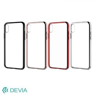 【iPhone Xケース】Devia Glimmer フレーム付ハードケース ローズゴールド iPhone X_6
