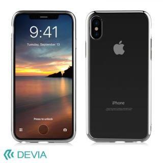【iPhone Xケース】Devia Glitter 超薄型 フレーム付TPUケース ブラック iPhone X_1