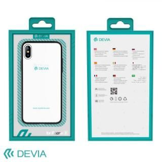 【iPhone Xケース】Devia Glitter 超薄型 フレーム付TPUケース ブラック iPhone X_4