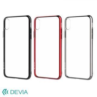 【iPhone Xケース】Devia Glitter 超薄型 フレーム付TPUケース ブラック iPhone X_6