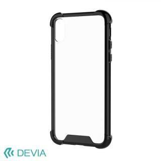 【iPhone Xケース】Devia Shockproof 衝撃ガード設計TPUケース ブラック iPhone X_1