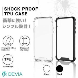 【iPhone Xケース】Devia Shockproof 衝撃ガード設計TPUケース ブラック iPhone X_3