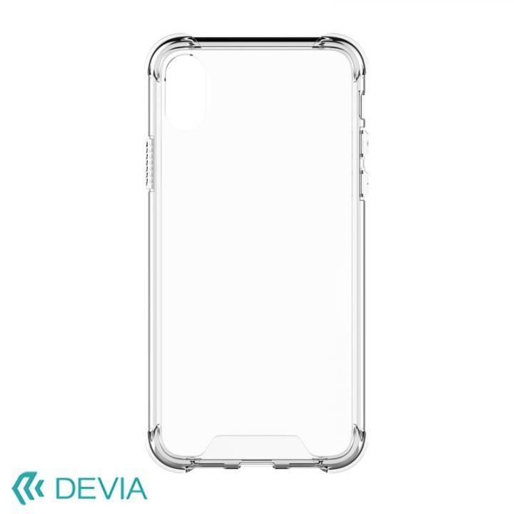 【iPhone Xケース】Devia Shockproof 衝撃ガード設計TPUケース クリアー iPhone X_0