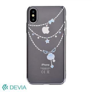 Devia Crystal Shell ケース シルバー iPhone X