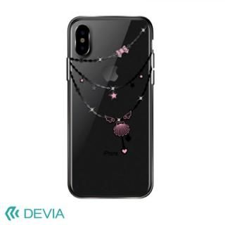 Devia Crystal Shell ケース ブラック iPhone X