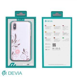 【iPhone Xケース】Devia Crystal Petunia ケース ローズゴールド iPhone X_4