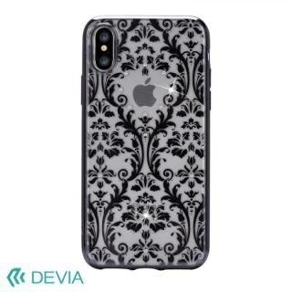 iPhone X ケース Devia Crystal Baroque ケース ブラック iPhone X