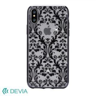 Devia Crystal Baroque ケース ブラック iPhone X