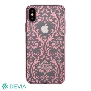 Devia Crystal Baroque ケース ローズゴールド iPhone X