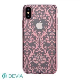 Devia Crystal Baroque ケース ローズゴールド iPhone X