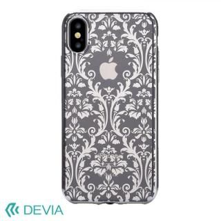 Devia Crystal Baroque ケース シルバー iPhone X